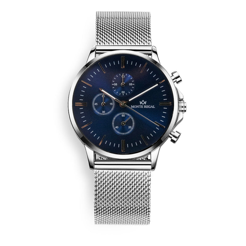 Chronograph Blue Chanel - Monte Regal™️