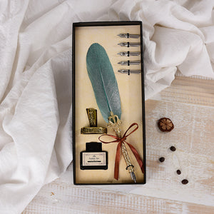 (BUY 2 FREE SHIPPING)60% OFF TODAY—Feather Quill Pen