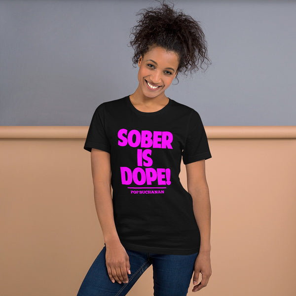 Sober Is Dope Short-Sleeve T-Shirt - Sober Is Dope