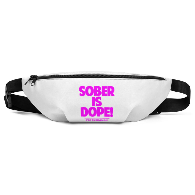 SOBER IS DOPE Fanny Pack - Sober Is Dope