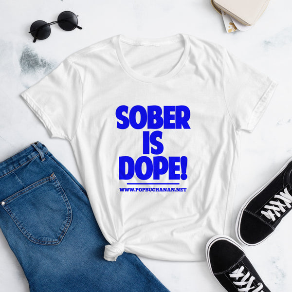 Sober is Dope Sky Blue t-shirt