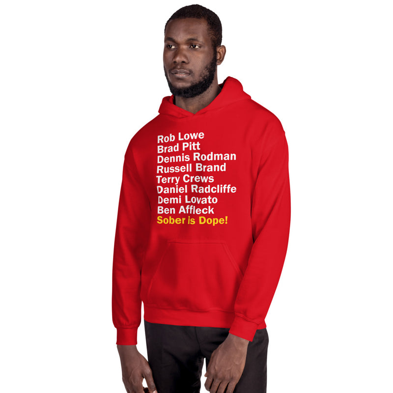 Sober Is Dope Unisex All Star Hoodie - Sober Is Dope