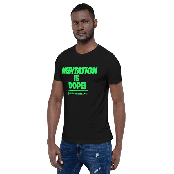 Meditation is Dope Short-Sleeve Men T-Shirt