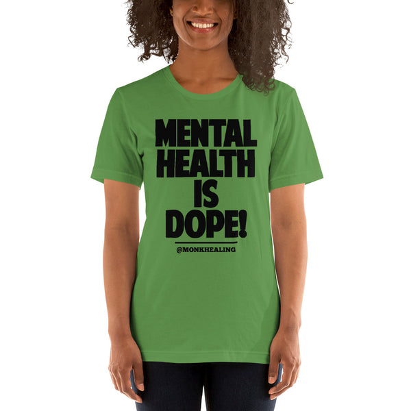 Mental Health is Dope Short-Sleeve Women's T-Shirt - Sober Is Dope