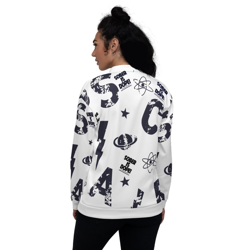 Deep Space Unisex Bomber Jacket