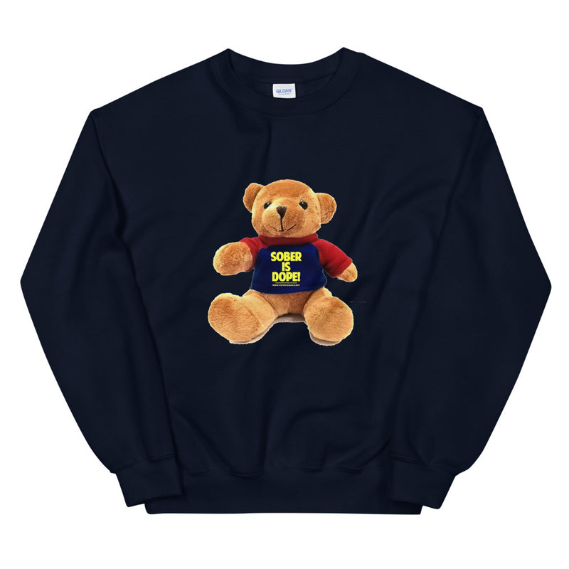 Sober is Dope Teddy Collection Unisex Sweatshirt