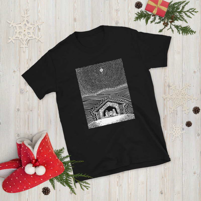 Nativity Christmas Short-Sleeve Unisex T-Shirt
