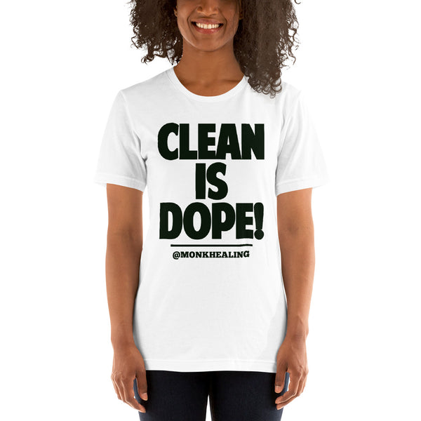 Clean is Dope Short-Sleeve Women's T-Shirt