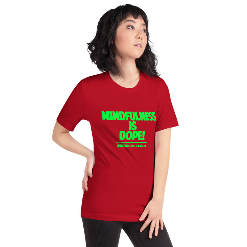 Mindfulness is Dope Short-Sleeve Women's T-Shirt - Sober Is Dope