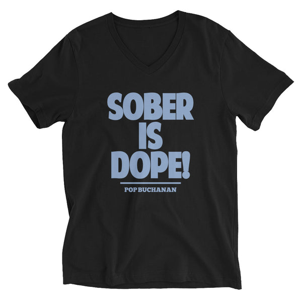 Sober Is Dope V-Neck T-Shirt