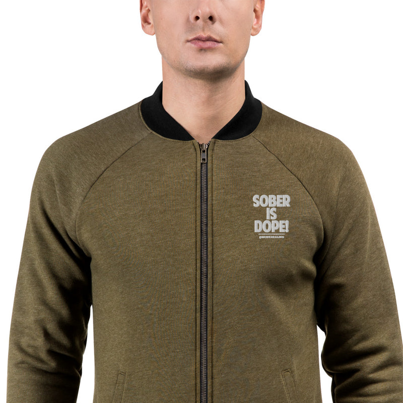 Sober is Dope Z Bomber Jacket