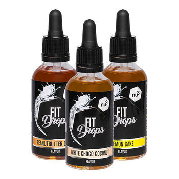 nu3 Fit Drops, aroma alimentare in gocce