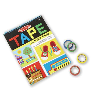 Reusable Tape Activity Book