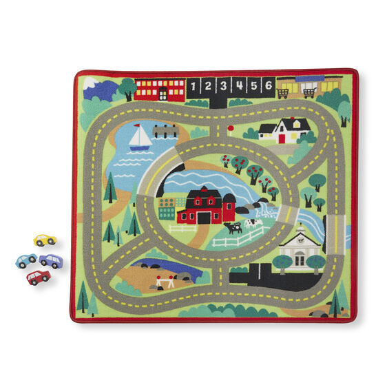 Round the Town Road Rug & Car Set