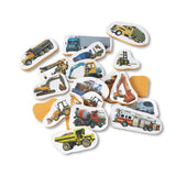 Tub Stickables - Trucks Soft Shapes Bath Toy