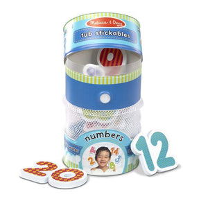 Tub Stickables - Numbers Soft Shapes Bath Toy