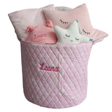 Welcoming Baby Girl Gift Basket