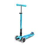 MAXI MICRO DELUXE FOLDABLE LED SCOOTER - Bright Blue