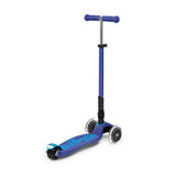 MAXI MICRO DELUXE FOLDABLE LED SCOOTER - Nevy Blue