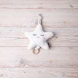 Cute Cream Beige Star Gift Box