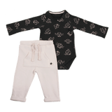 Bodysuit & Pants Set C