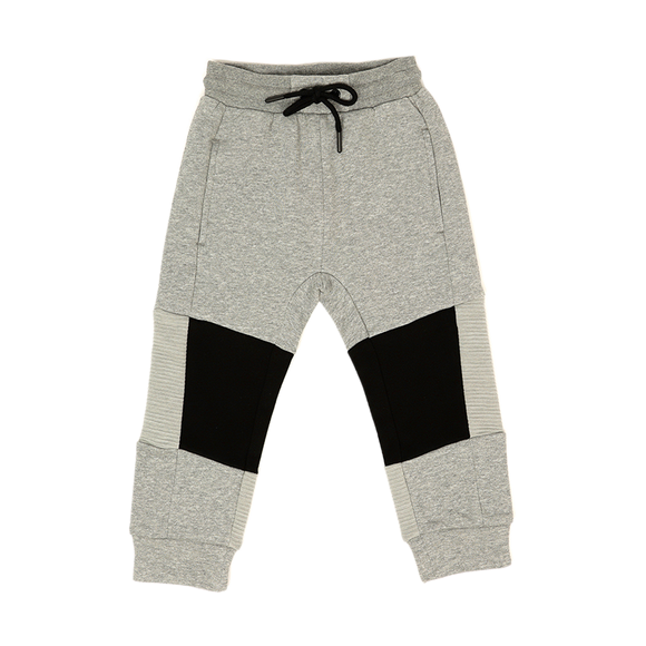 Pants F - Light Gray Melange
