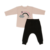 Shirt & Pants Set KC - Light Pink