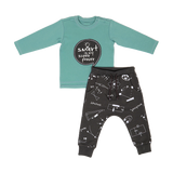 Shirt & Pants Set KC - Green