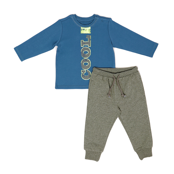 Shirt & Pants Set KC - Blue