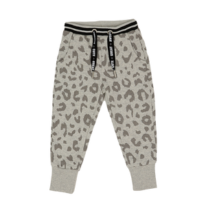 Pants E - Light Gray Printed