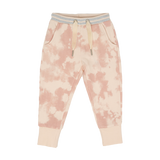 Pants E - Light Pink Printed