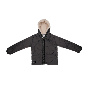 Boys Nylon Coat N - Dark Gray