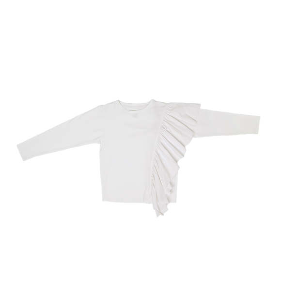 Wide sleeve shirt AB - White