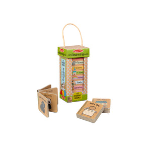 Natural Play Book Tower : Little Learning Books