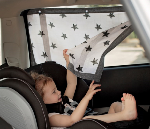 Car Sunshade - Cotton Muslin!