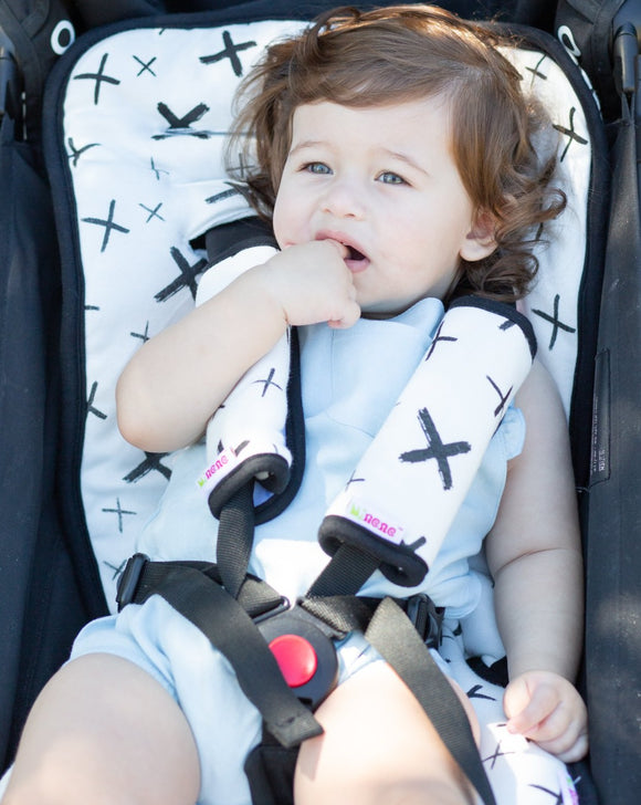 Reversible Pushchair & Car Seat Liner Set