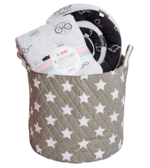 Chic Gift Basket - Grey Star
