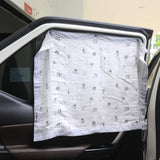 Muslin Bamboo Car Sunshade