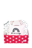Special Baby Pink Heart Bedding Gift Box