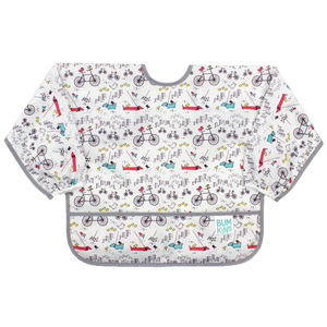 Sleeved Bib:  Urban Bird