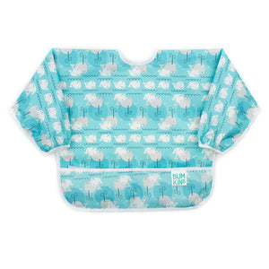 Sleeved Bib:  Whales