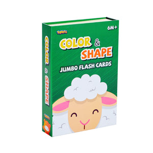 New Jumbo Flash card – Color&Shape