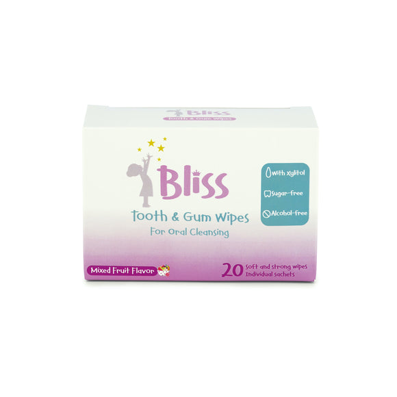 Bliss Tooth & Gum Wipes