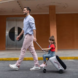 MICRO EAZY RIDE ON 3IN1 SUITCASE - PINK