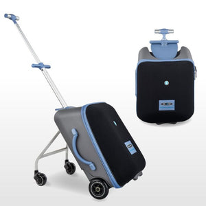 MICRO EAZY RIDE ON 3IN1 SUITCASE - BLUE