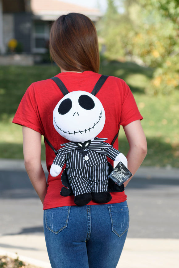 Jack Skellington plush backpack - Bat Kountry