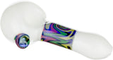 Swirly Band Spoon Hand Pipe - Bat Kountry- shipping in stock items during COVID-19