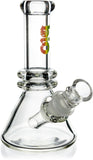 "6"" Mini Heavy Beaker Bong, by Biohazard - Bat Kountry"