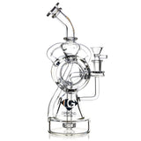 "11"" Ultimate Recycler Rig, by Diamond Glass (free banger included) - Bat Kountry- shipping in stock items during COVID-19"