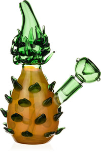 Pineapple Glass Rig - Bat Kountry- shipping in stock items during COVID-19
